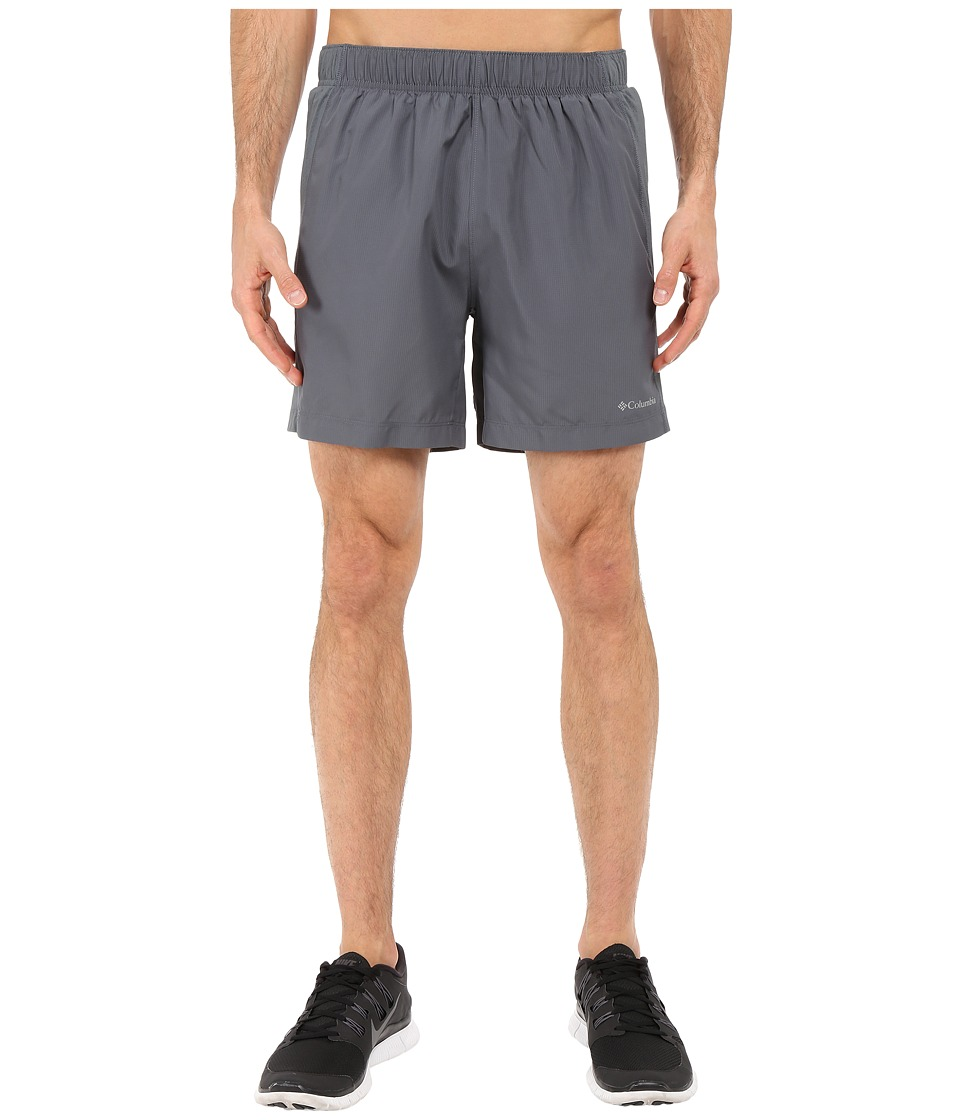 Columbia - Zero Rules II Short (Graphite/Super Blue Pulls) Men's Shorts