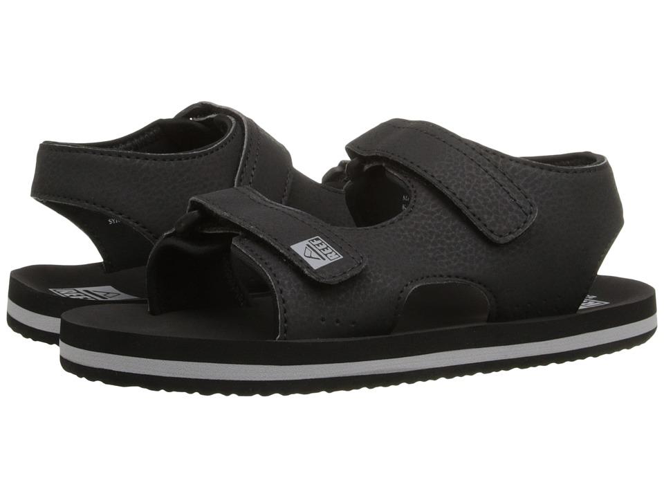 Reef Kids - Grom Stomper (Infant/Toddler/Little Kid/Big Kid) (Black) Boys Shoes