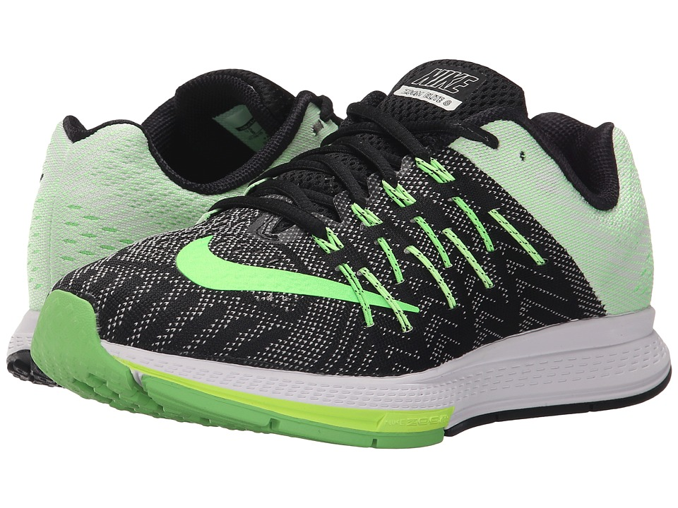 Nike - Air Zoom Elite 8 (Black/Sail/Ghost Green/Voltage Green) Women's Running Shoes
