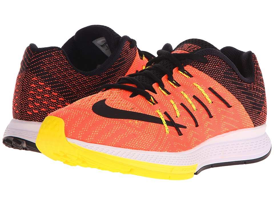 Nike - Air Zoom Elite 8 (Hyper Orange/Opti Yellow/Light Voltage Yellow II/Black) Women