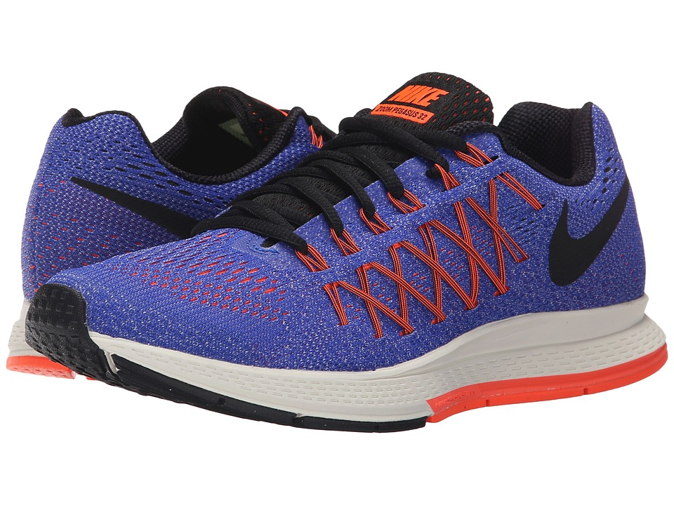 Nike - Air Zoom Pegasus 32 (Racer Blue/Hyper Orange/Bright Mango/Black) Women's Running Shoes