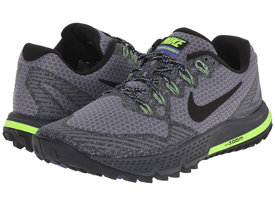 Nike - Air Zoom Wildhorse 3 (Cool Grey/Anthracite/Persian Violet/Black) Women's Running Shoes