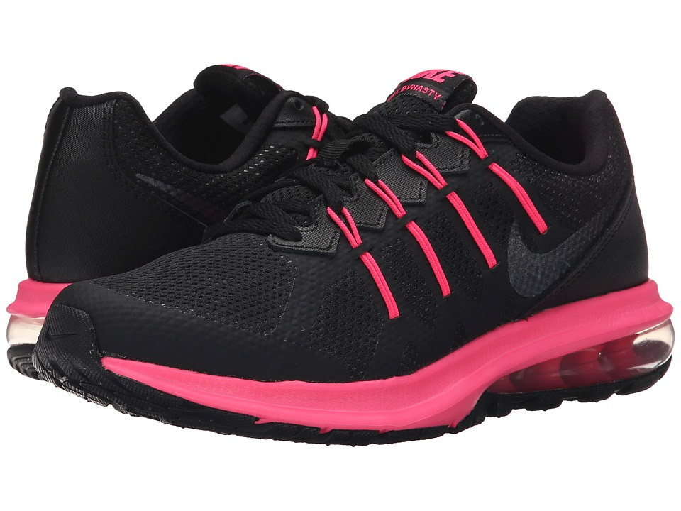 Nike - Air Max Dynasty (Black/Hyper Pink/Anthracite/Metallic Hematite) Women's Running Shoes