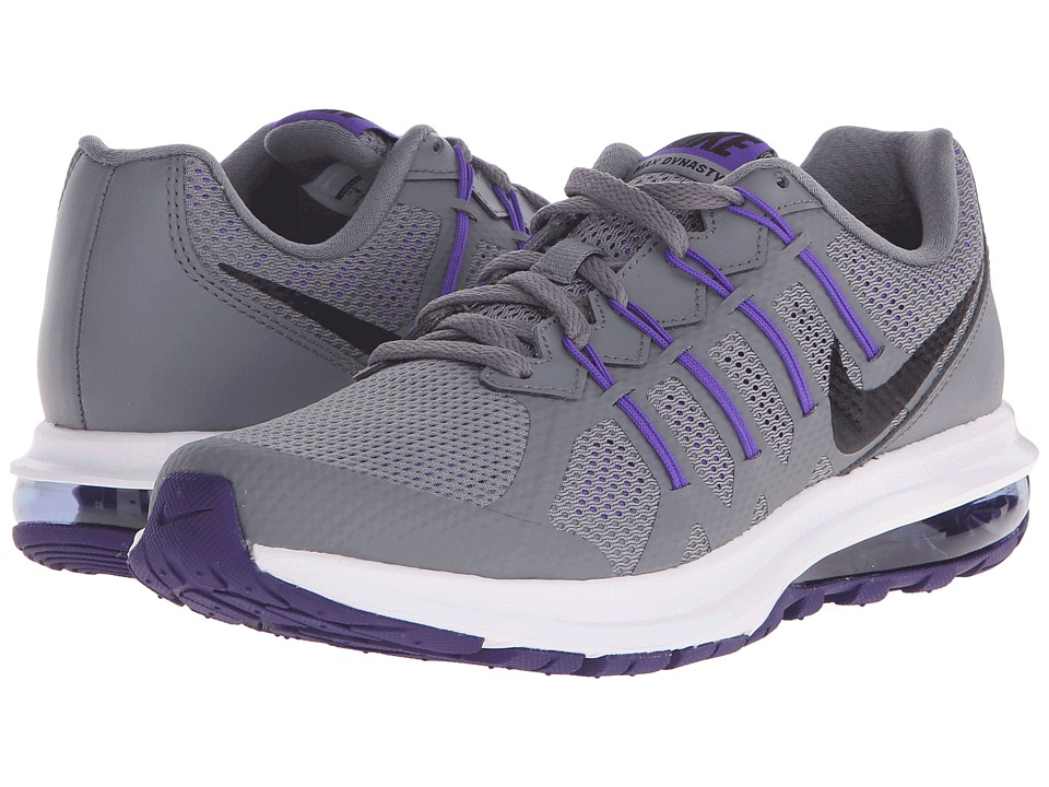 Nike - Air Max Dynasty (Cool Grey/Fierce Purple/Hyper Grape/Black) Women's Running Shoes