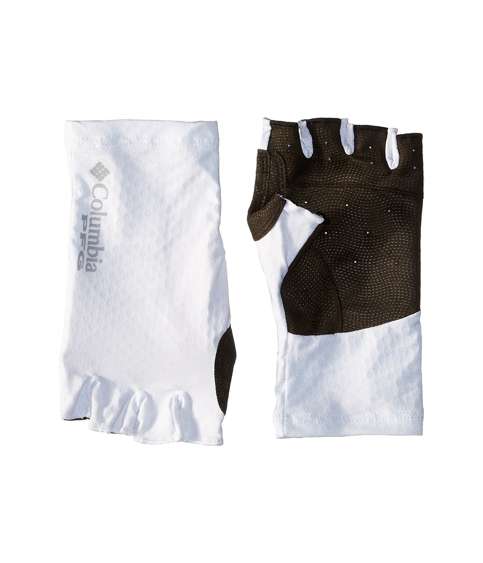 Columbia - Freezer Zerotm Fingerless G (White/Columbia Grey PFG) Athletic Sports Equipment