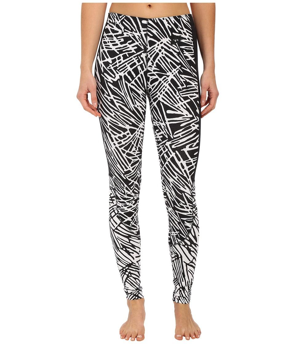Nike - Leg-A-See Printed Legging (Black/Black/Black/Black) Women's Casual Pants