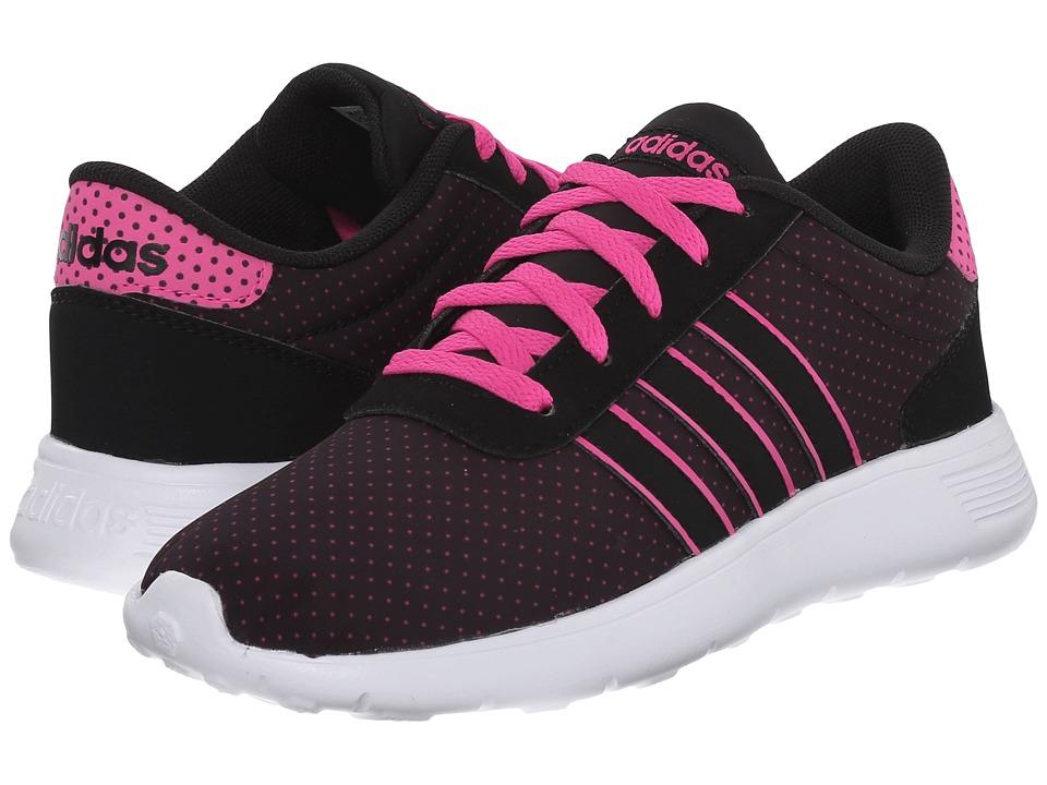 adidas Kids - Lite Racer (Little Kid/Big Kid) (Polka Dot Print) Girl's Shoes