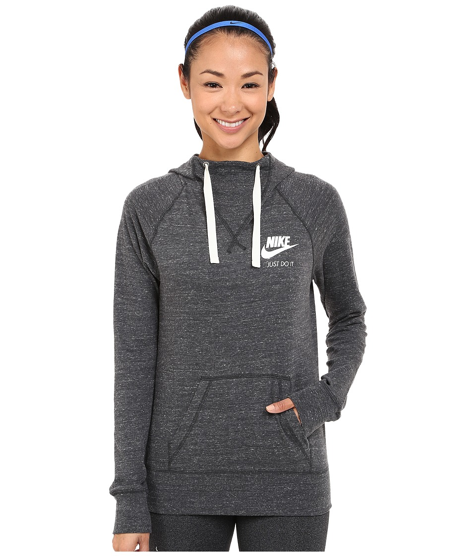 Nike - Gym Vintage Hoodie (Anthracite/Sail) Women's Sweatshirt