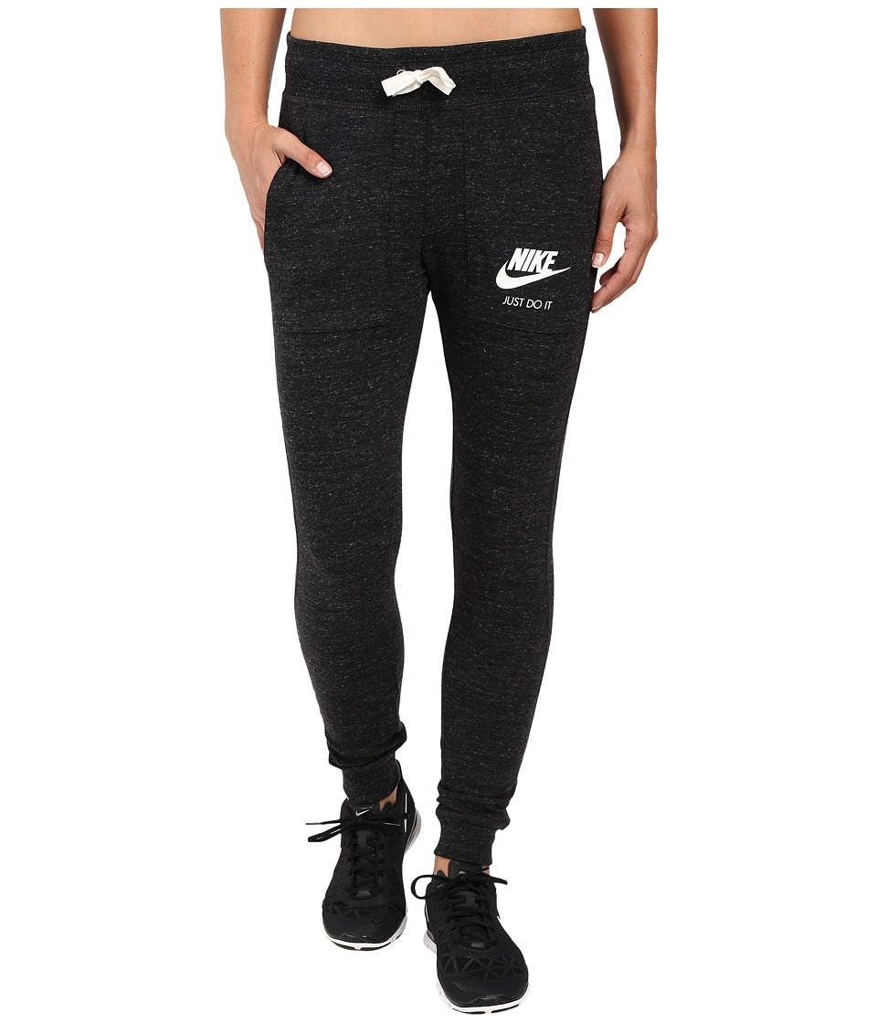 Nike - Gym Vintage Pant (Black/Sail) Women's Casual Pants