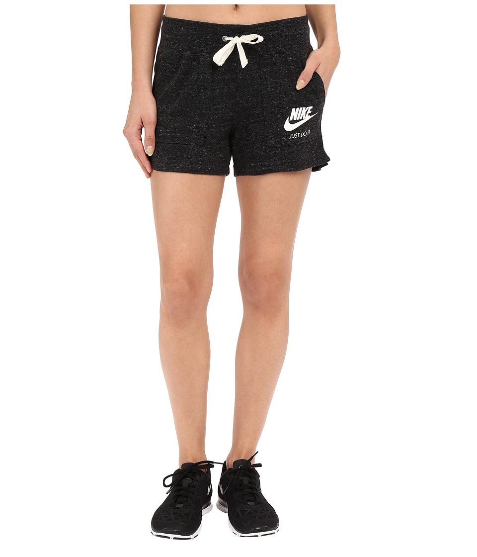 Nike - Gym Vintage Shorts (Black/Sail) Women's Shorts