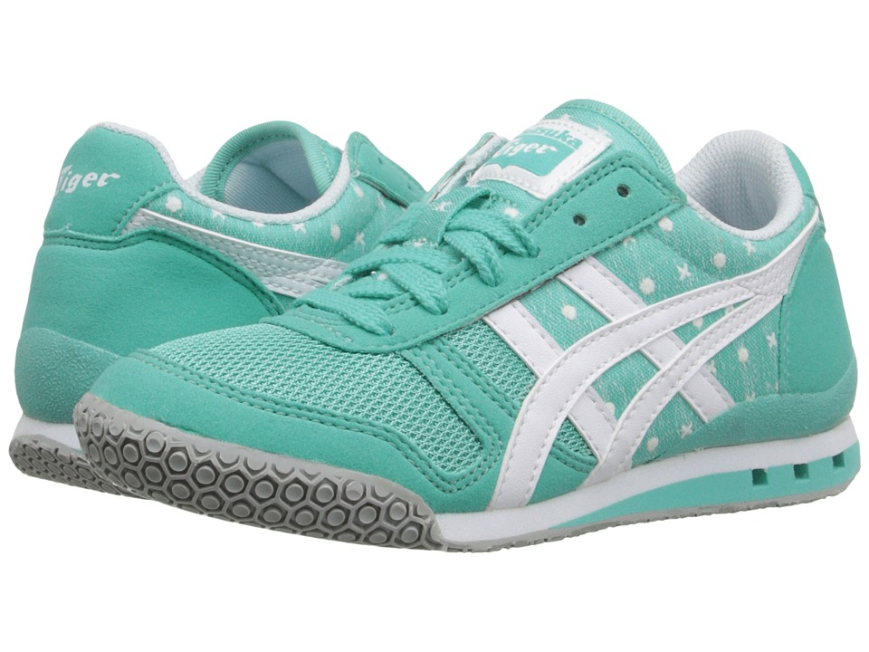 Onitsuka Tiger Kids by Asics - Ultimate 81 PS (Little Kid) (Turquoise/White) Girl's Shoes