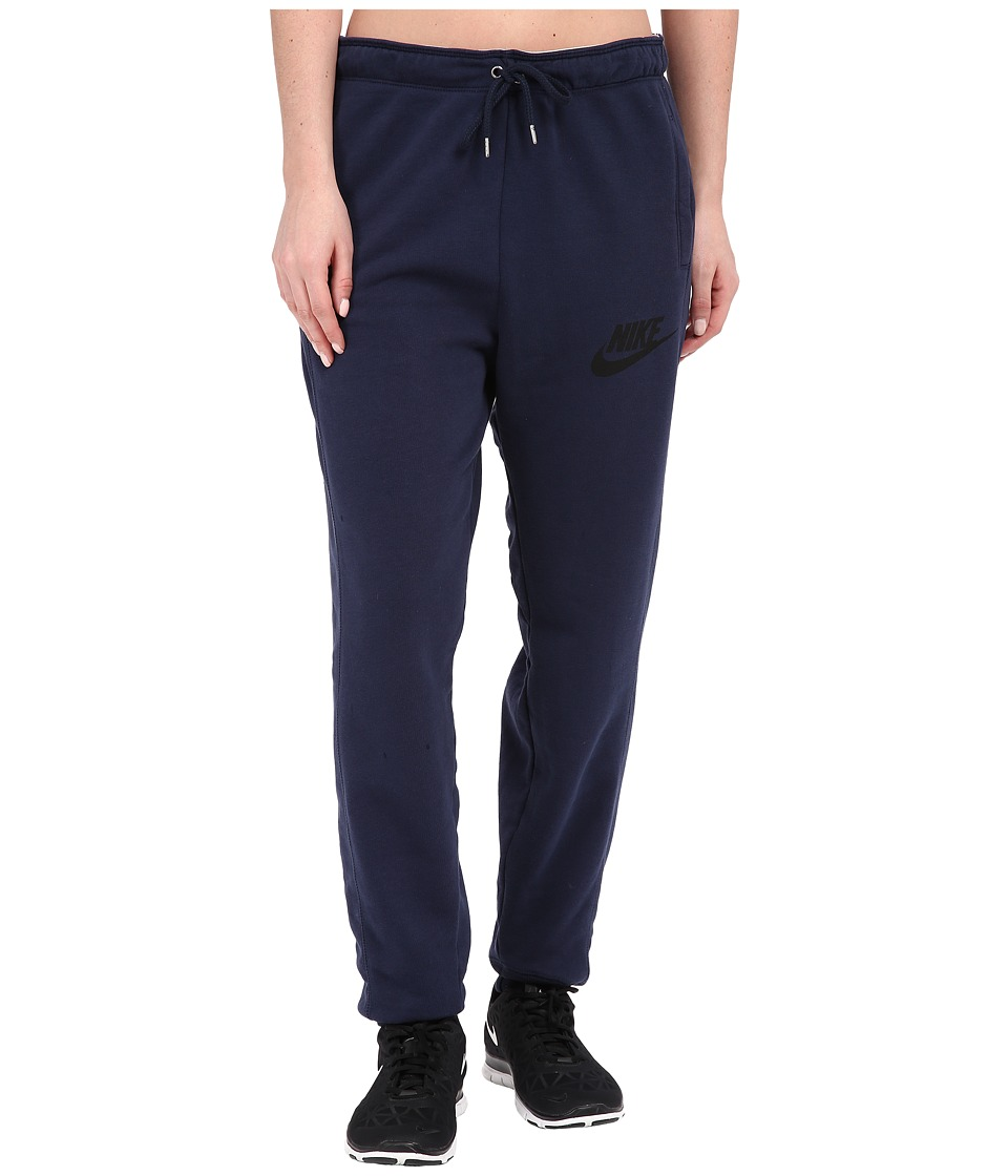 Nike - Rally Jogger Sweatpant (Obsidian/Obsidian/Black) Women's Casual Pants