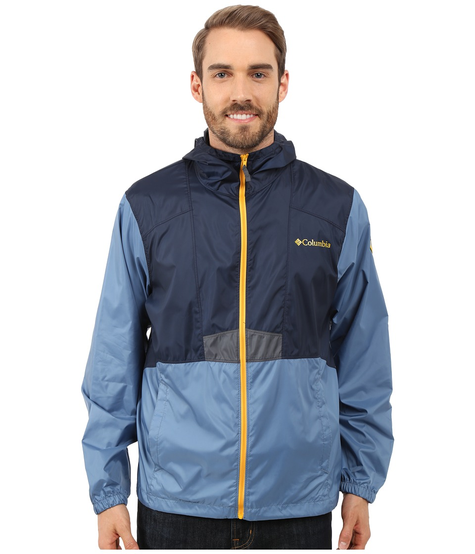 Columbia - Flashback Windbreaker Park Edition (Collegiate Navy/Steel/Grand Teton) Men's Coat