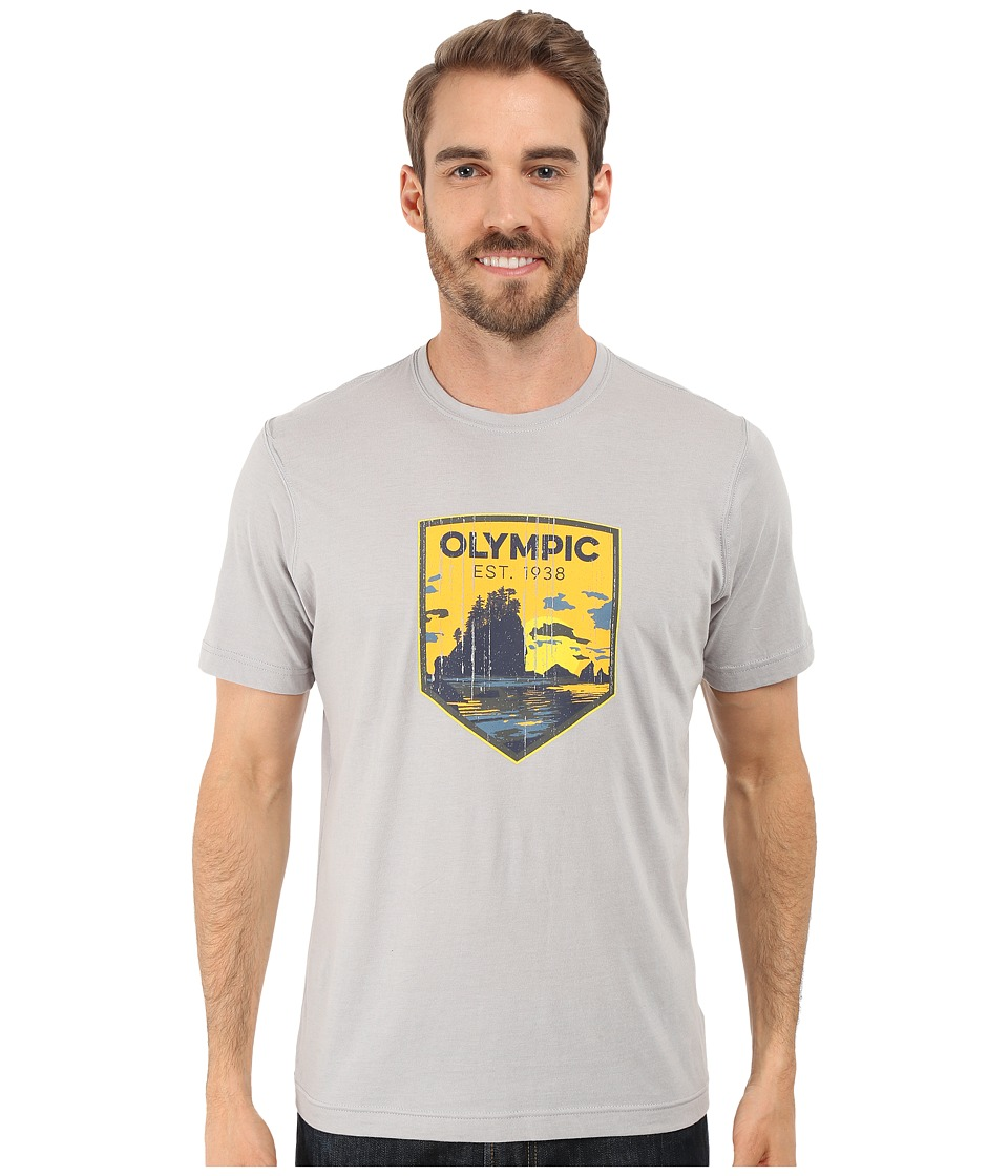 Columbia - National Parks Tee (Grey Heather/Olympic) Men's T Shirt