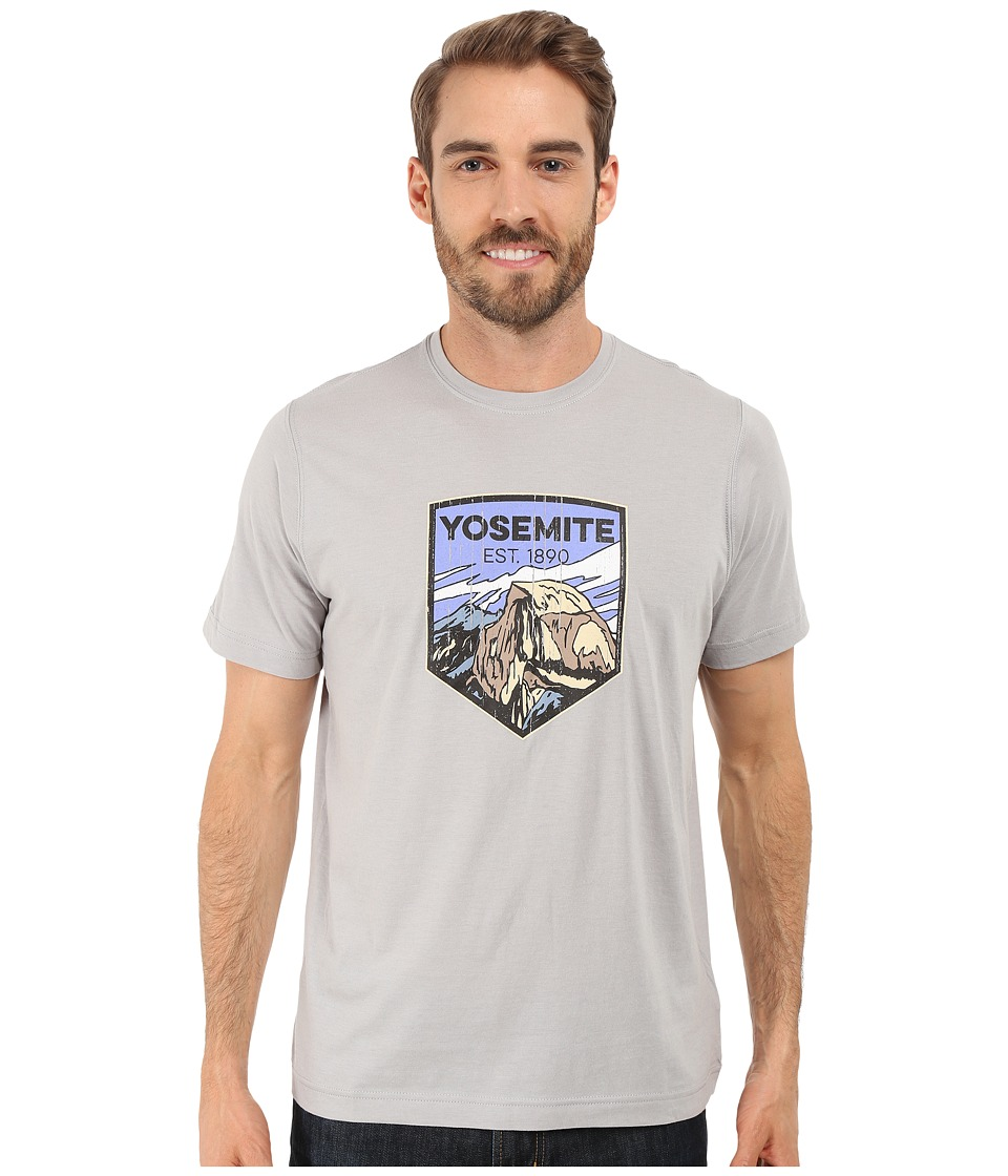 Columbia - National Parks Tee (Grey Heather/Yosemite) Men's T Shirt