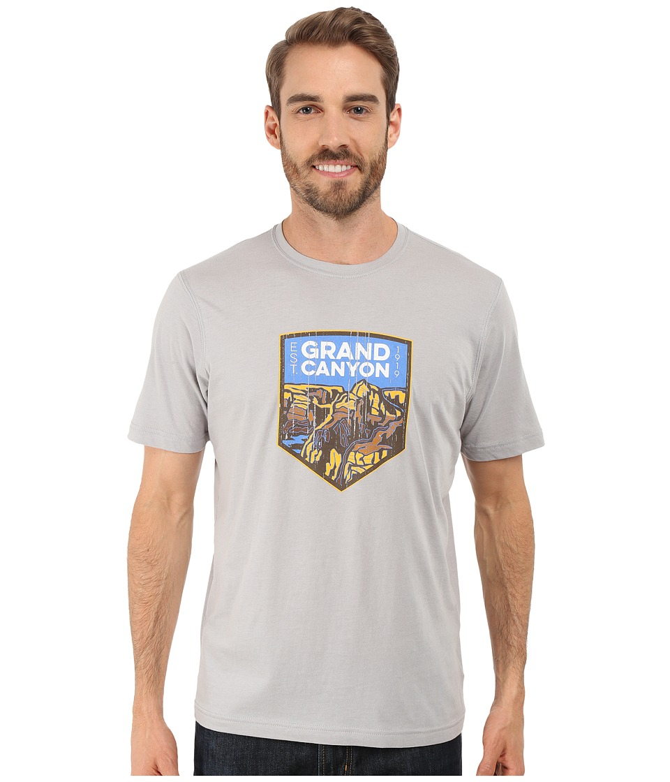Columbia - National Parks Tee (Grey Heather/Grand Canyon) Men's T Shirt