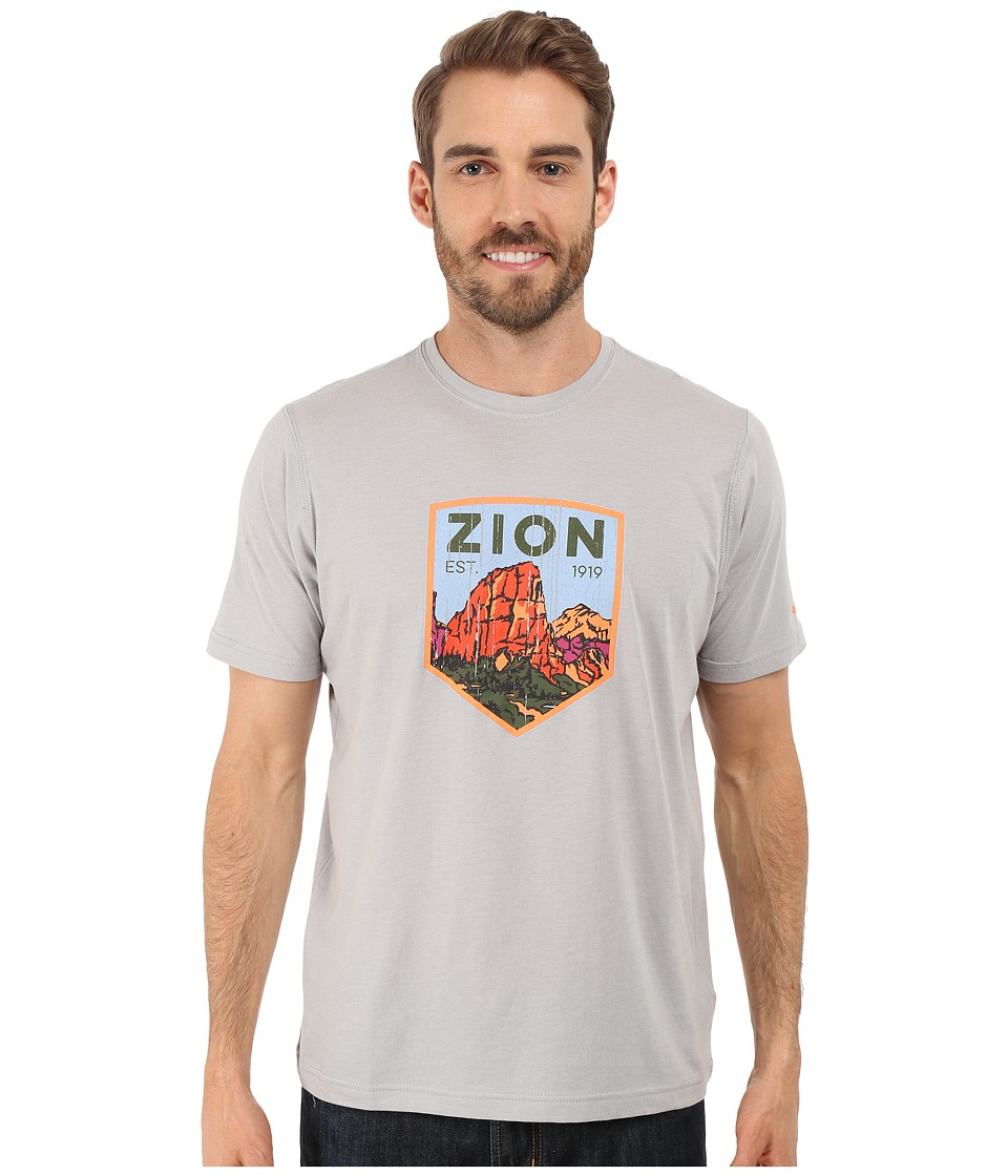 Columbia - National Parks Tee (Grey Heather/Zion) Men's T Shirt