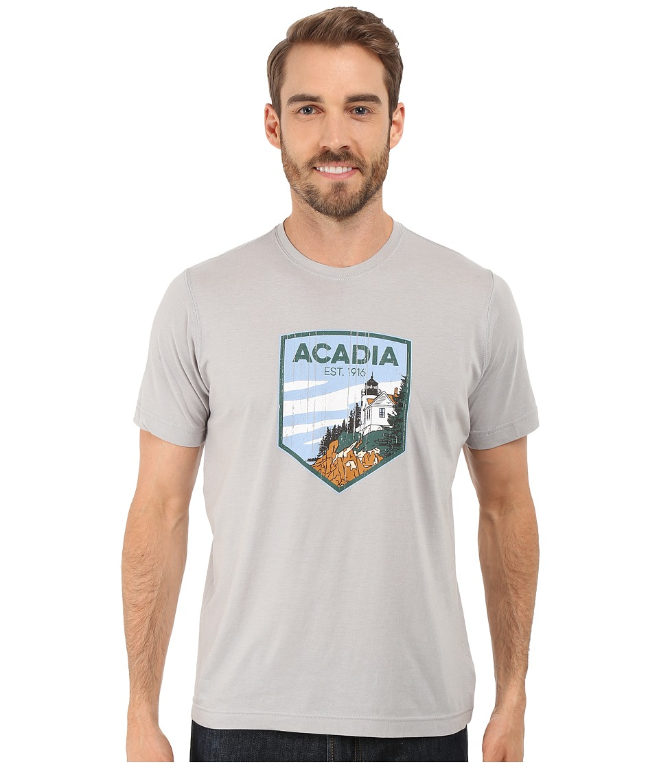 Columbia - National Parks Tee (Grey Heather/Acadia) Men's T Shirt