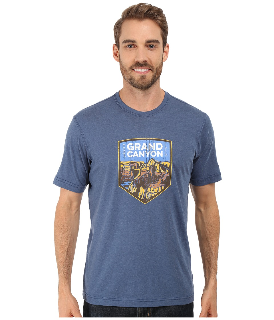 Columbia - National Parks Tee (Night Tide Heather/Grand Canyon) Men's T Shirt