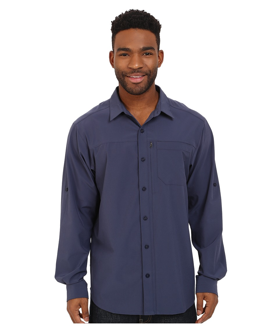 Columbia - Global Adventure IV Long Sleeve Shirt (Nocturnal) Men's Long Sleeve Button Up