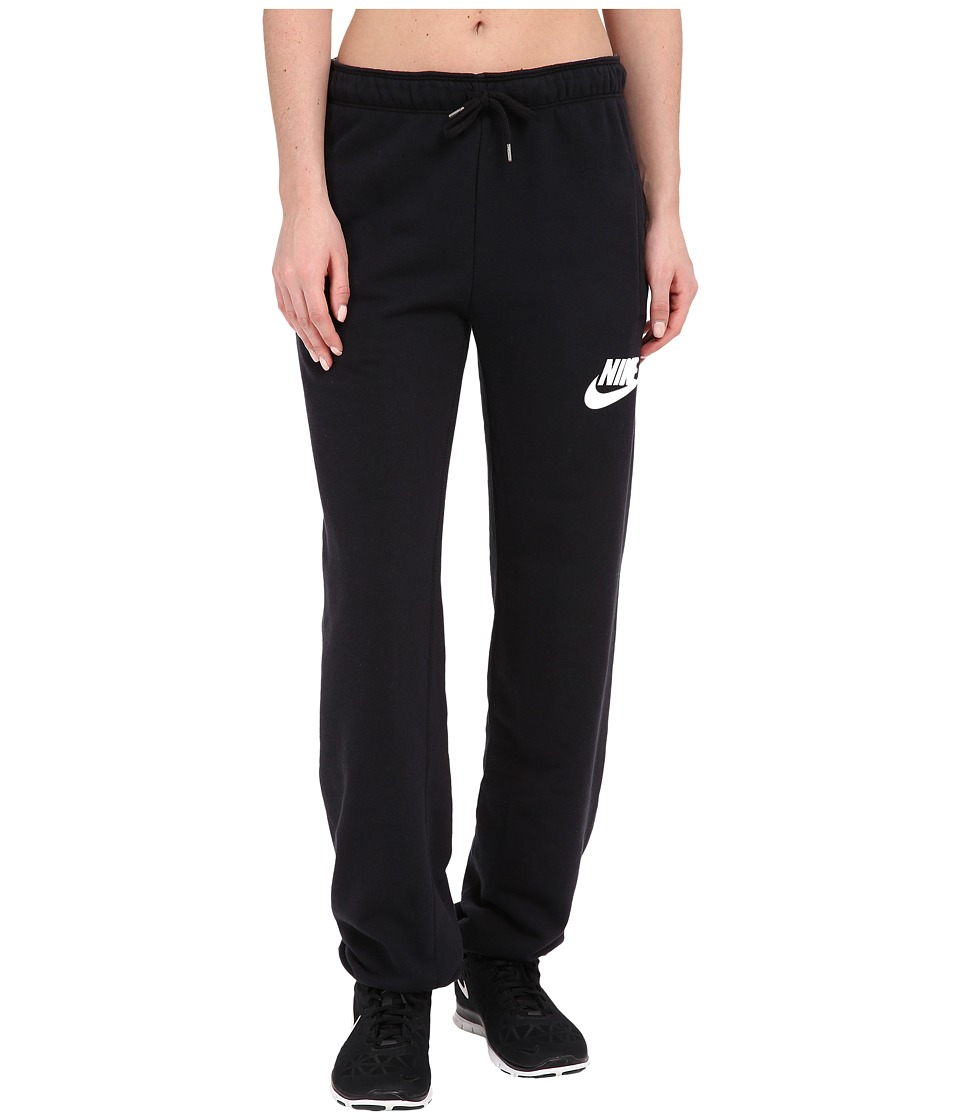 Nike - Rally Loose Pant (Black/Black/White) Women's Casual Pants