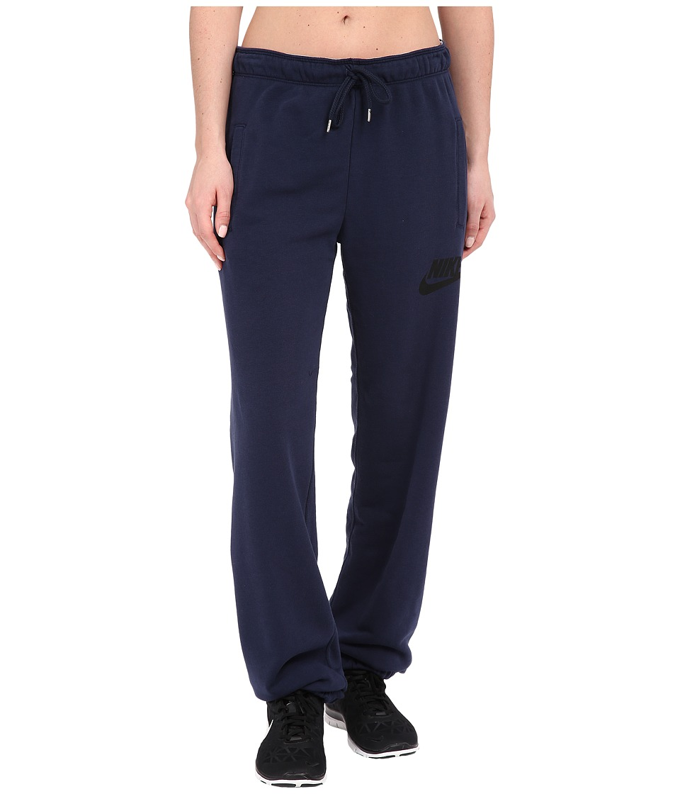 Nike - Rally Loose Pant (Obsidian/Obsidian/Black) Women's Casual Pants