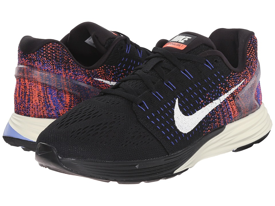 02f0e7b316477 UPC 886066662129 product image for Nike - Lunarglide 7 (Black Racer Blue  Hyper UPC 886066662129 product image for Nike Women s Lunarglide 7 Running  Shoe ...