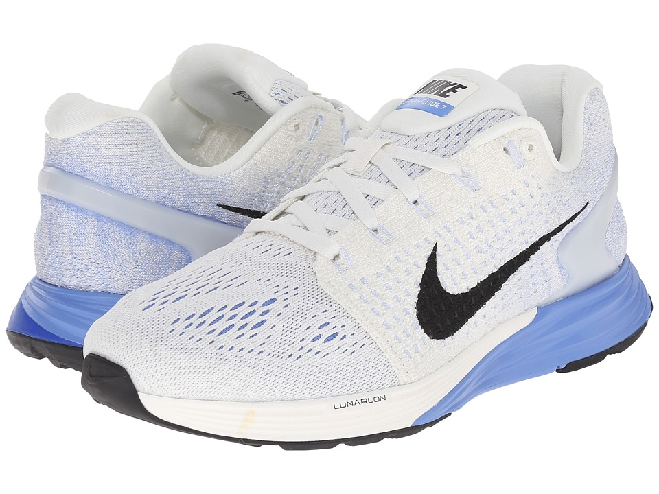 Nike - Lunarglide 7 (Sail/Chalk Blue/Pure Platinum/Black) Women's Running Shoes