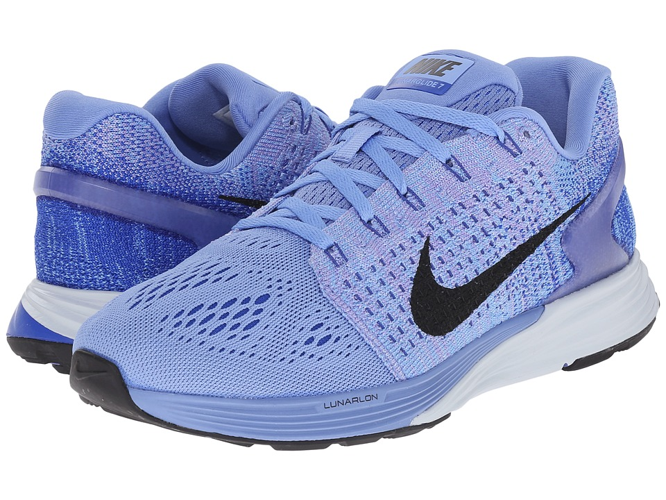 Nike - Lunarglide 7 (Chalk Blue/Racer Blue/Blue Tint/Black) Women's Running Shoes