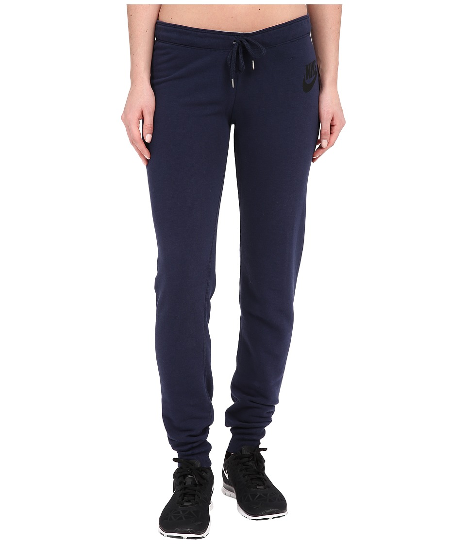 Nike - Rally Tight Pants (Obsidian/Obsidian/Black) Women's Casual Pants