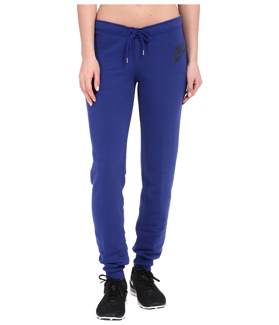 Nike - Rally Tight Pants (Deep Royal Blue/Deep Royal Blue/Obsidian) Women's Casual Pants