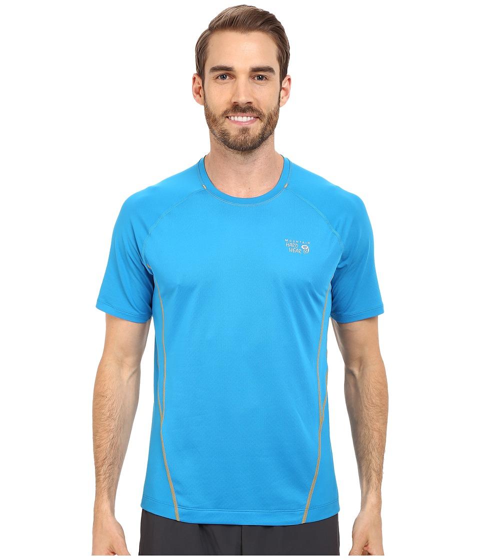 Mountain Hardwear - WickedCool S/S Tee (Dark Compass) Men's Short Sleeve Pullover