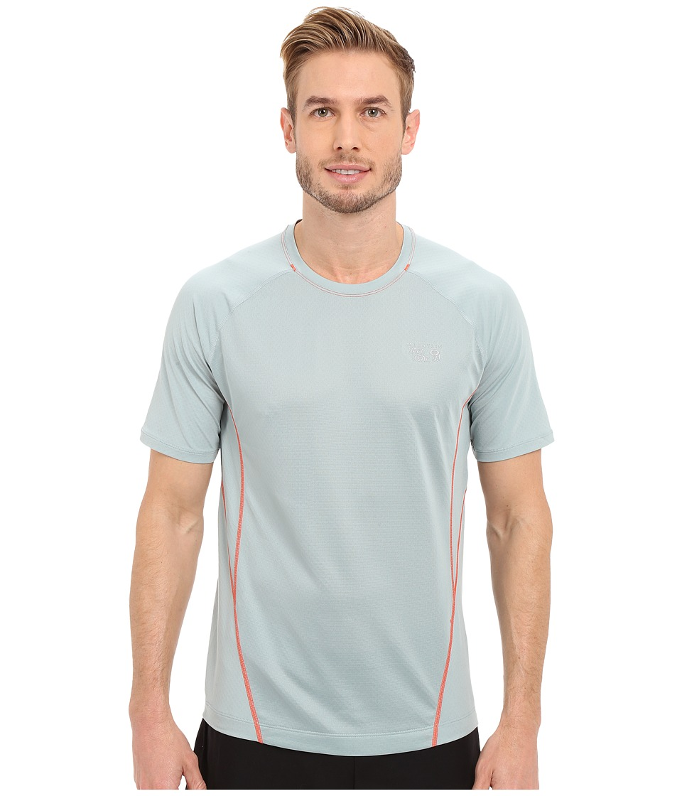Mountain Hardwear - WickedCool S/S Tee (Ice Shadow) Men's Short Sleeve Pullover