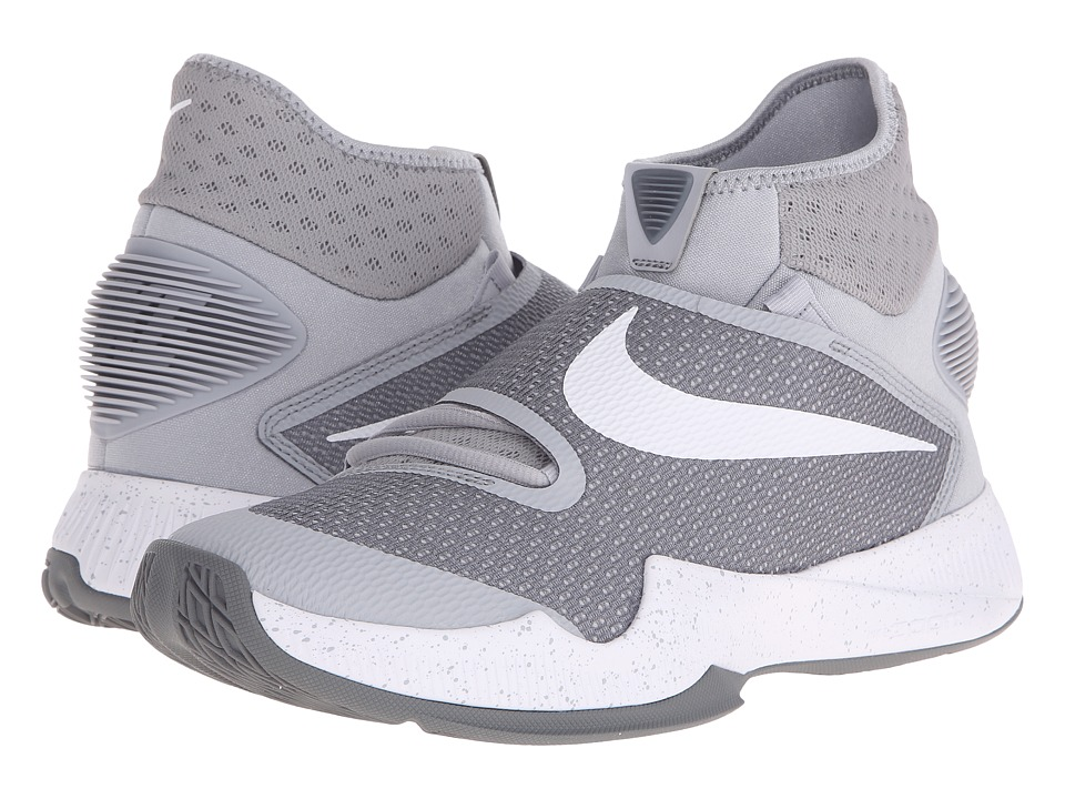 Nike - Zoom Hyperrev 2016 (Wolf Grey/White/Cool Grey) Men's Basketball Shoes
