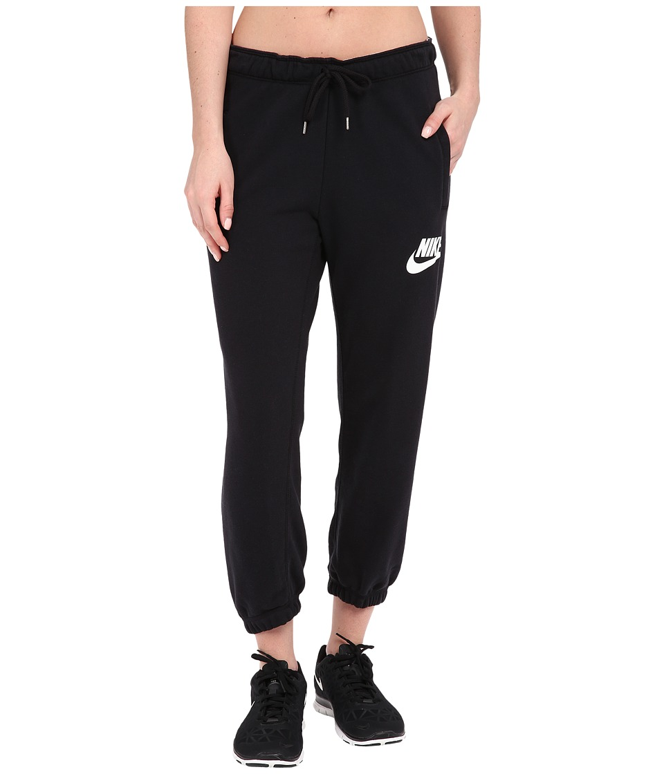 Nike - Rally Capris (Black/Black/White) Women's Capri