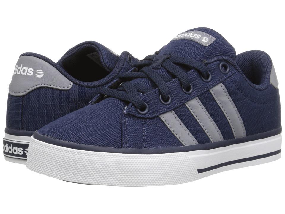adidas Kids - Daily (Little Kid/Big Kid) (Navy/Grey/Running White) Boys Shoes