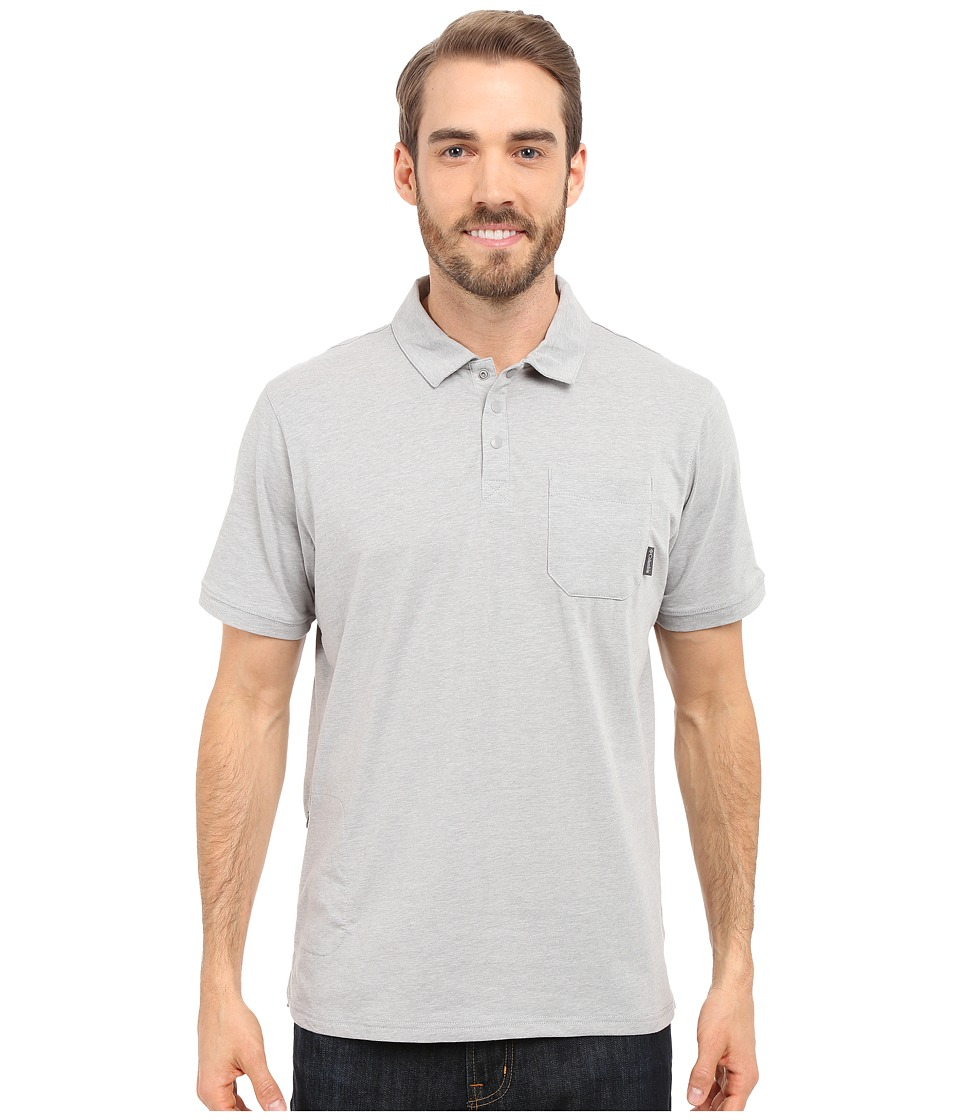 Columbia - Global Rambler Polo (Columbia Grey Heather) Men's Short Sleeve Pullover