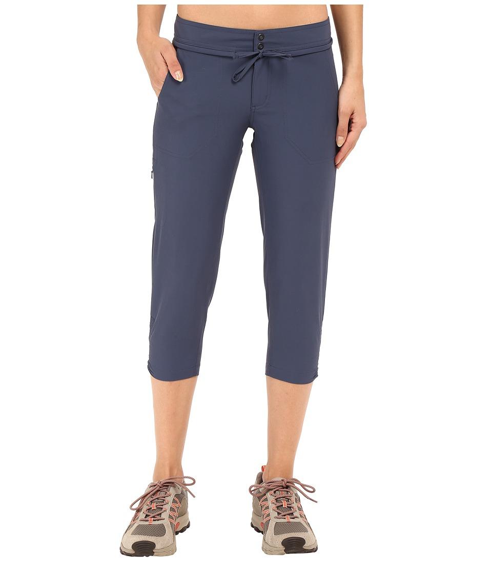 Mountain Hardwear - Yuma Capris (Zinc) Women's Capri