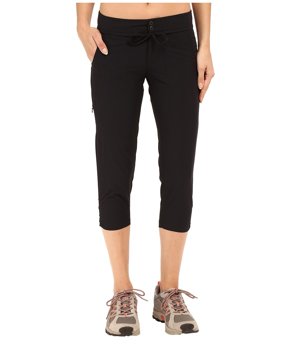 Mountain Hardwear - Yumatm Capris (Black) Women's Capri