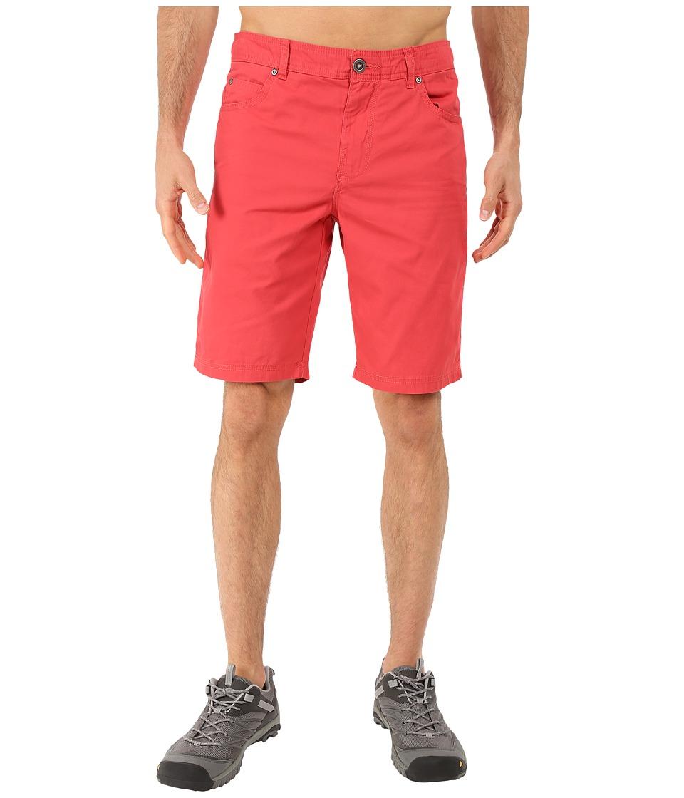 Columbia - Bridge To Bluff Shorts (Sunset Red Graphite) Men's Shorts