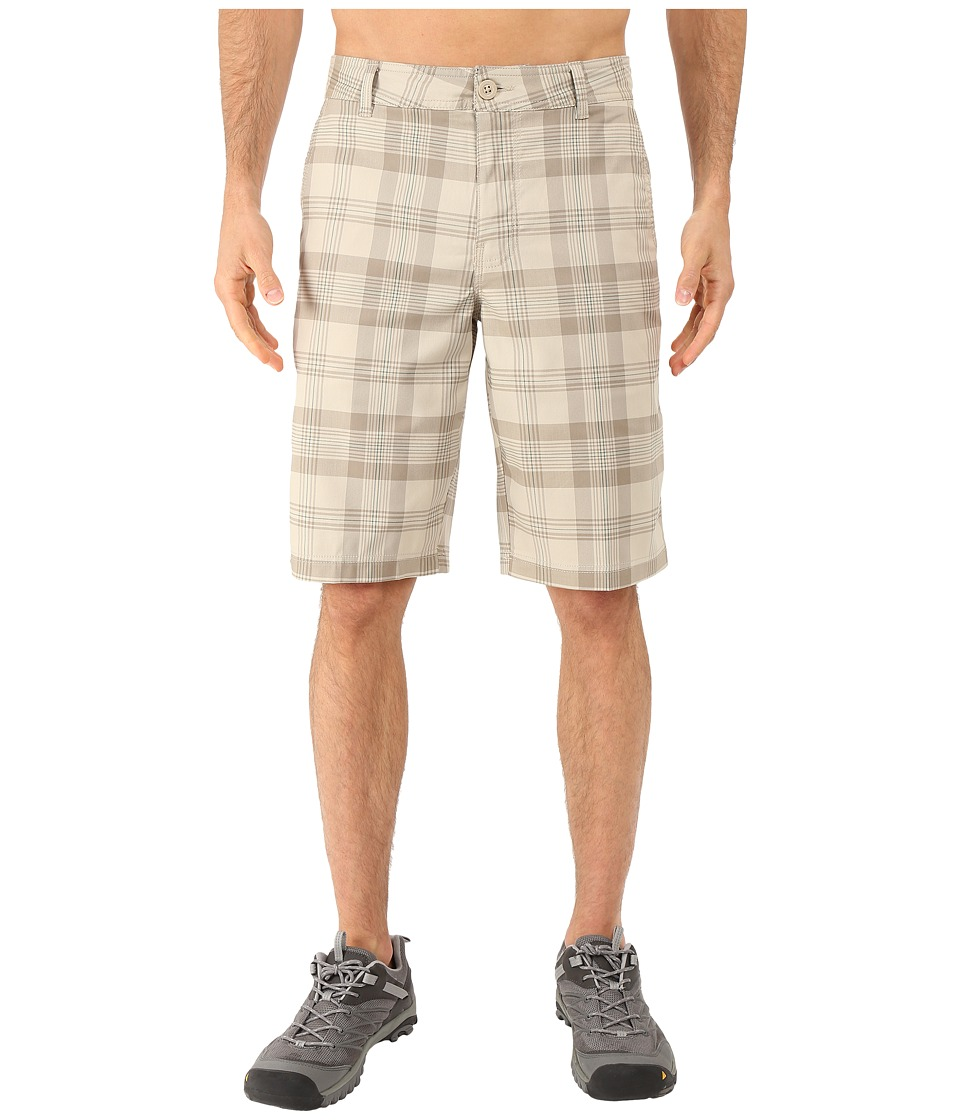 Columbia - Castlewood Shorts (Tusk Plaid) Men's Shorts