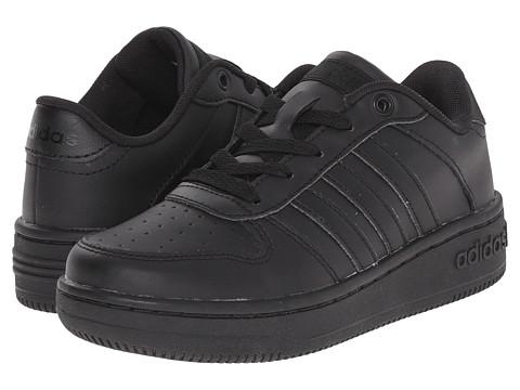 adidas Kids - Team Court (Little Kid/Big Kid) (Black/Black/Black) Kids Shoes