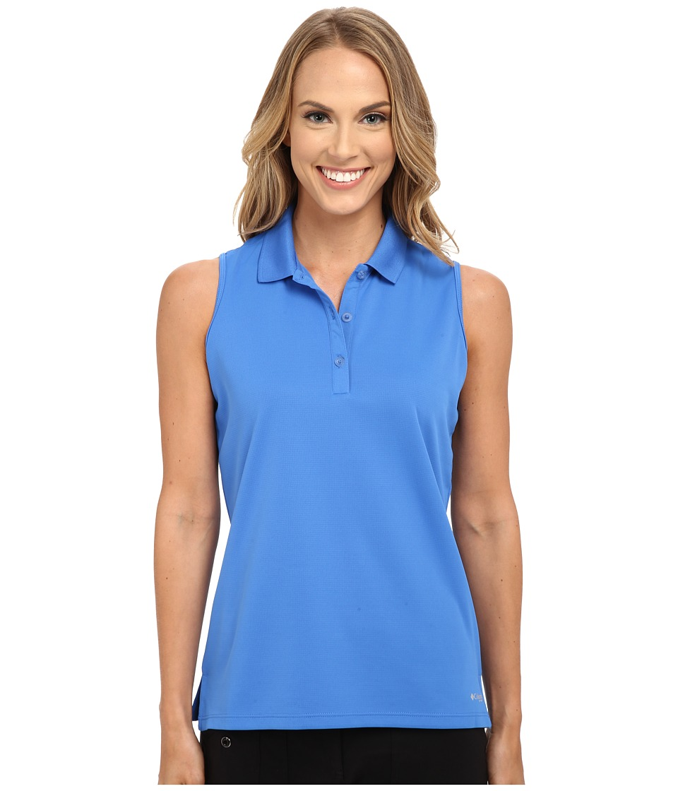 Columbia - Innisfree Sleeveless Polo Shirt (Stormy Blue) Women's Sleeveless