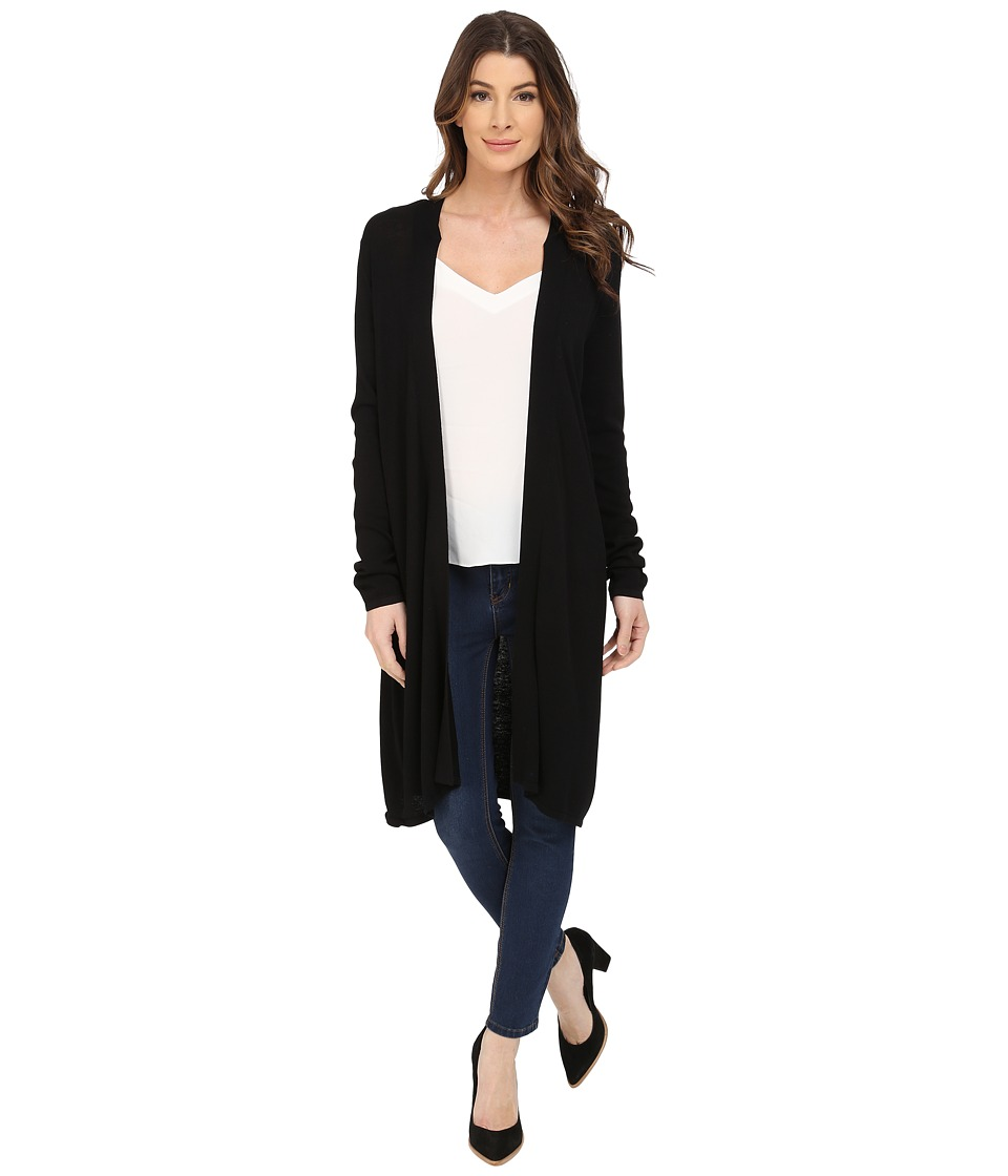 NYDJ - Duster Cardigan (Black) Women's Sweater