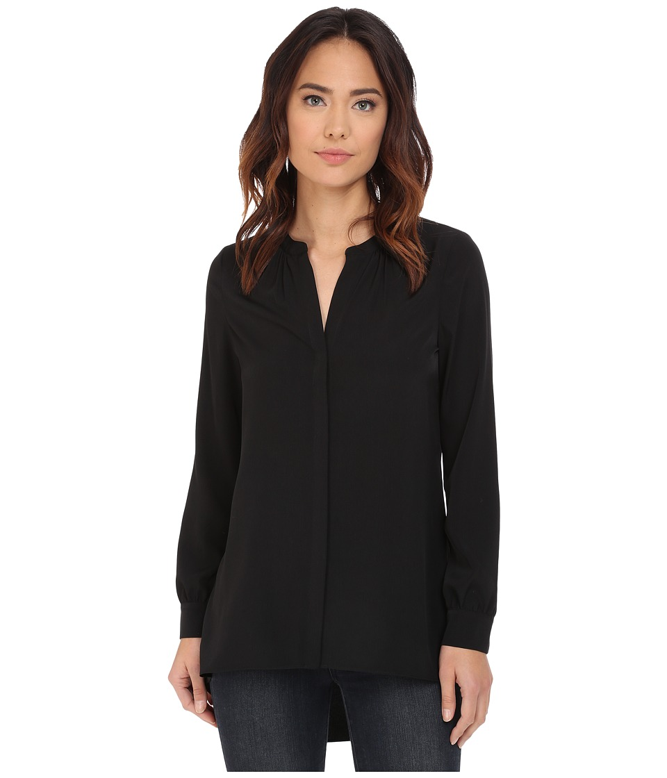 NYDJ - Tunic High Low (Black) Women's Blouse