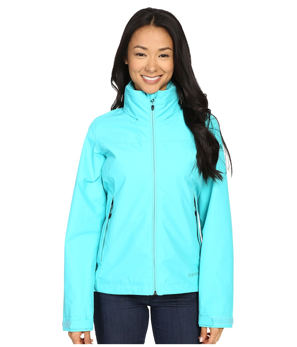 adidas Outdoor - All Outdoor 2L GORE-TEX Wandertag Jacket (Vivid Mint) Women's Coat