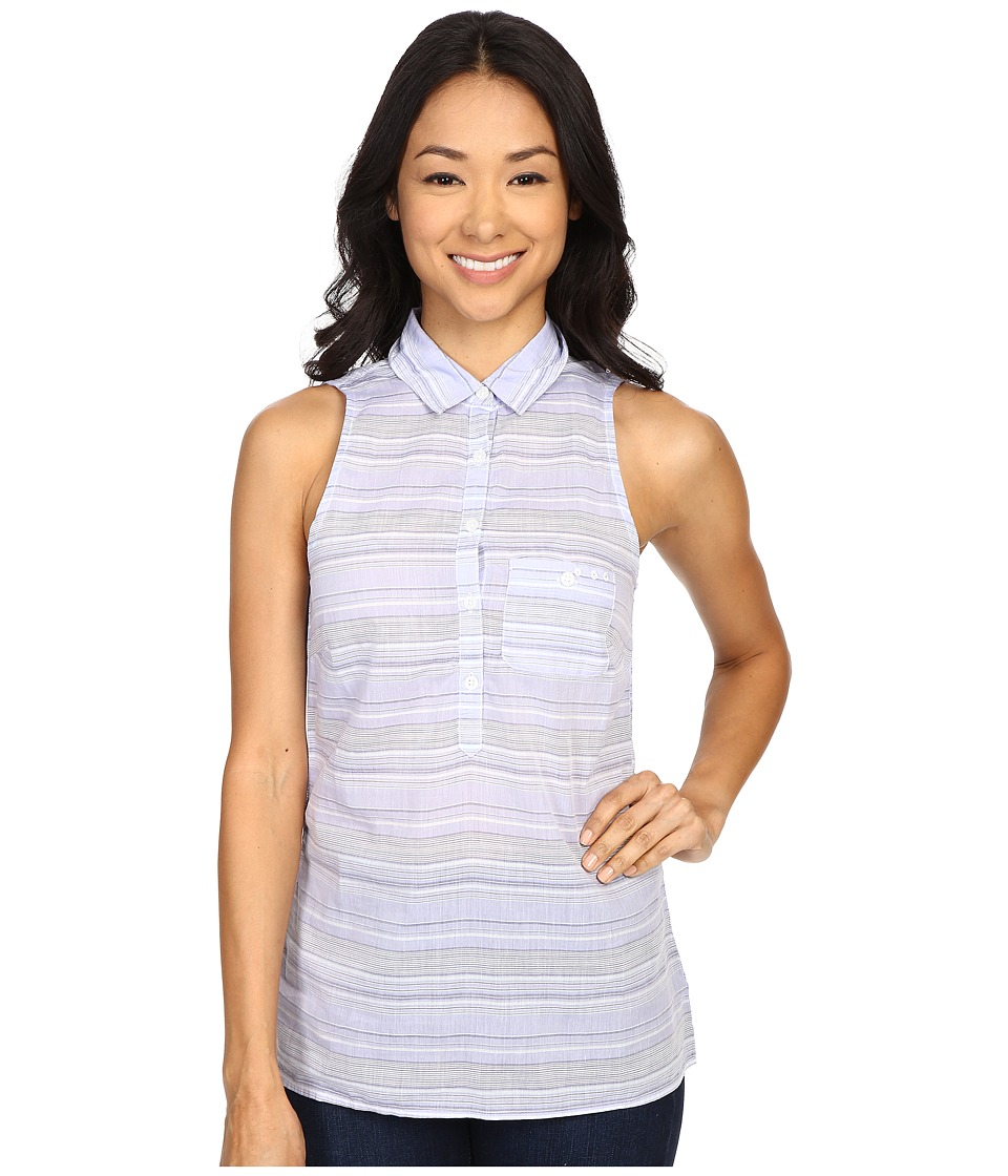 Columbia - Sun Drifter Sleeveless Shirt (Pale Purple Stripe) Women's Sleeveless