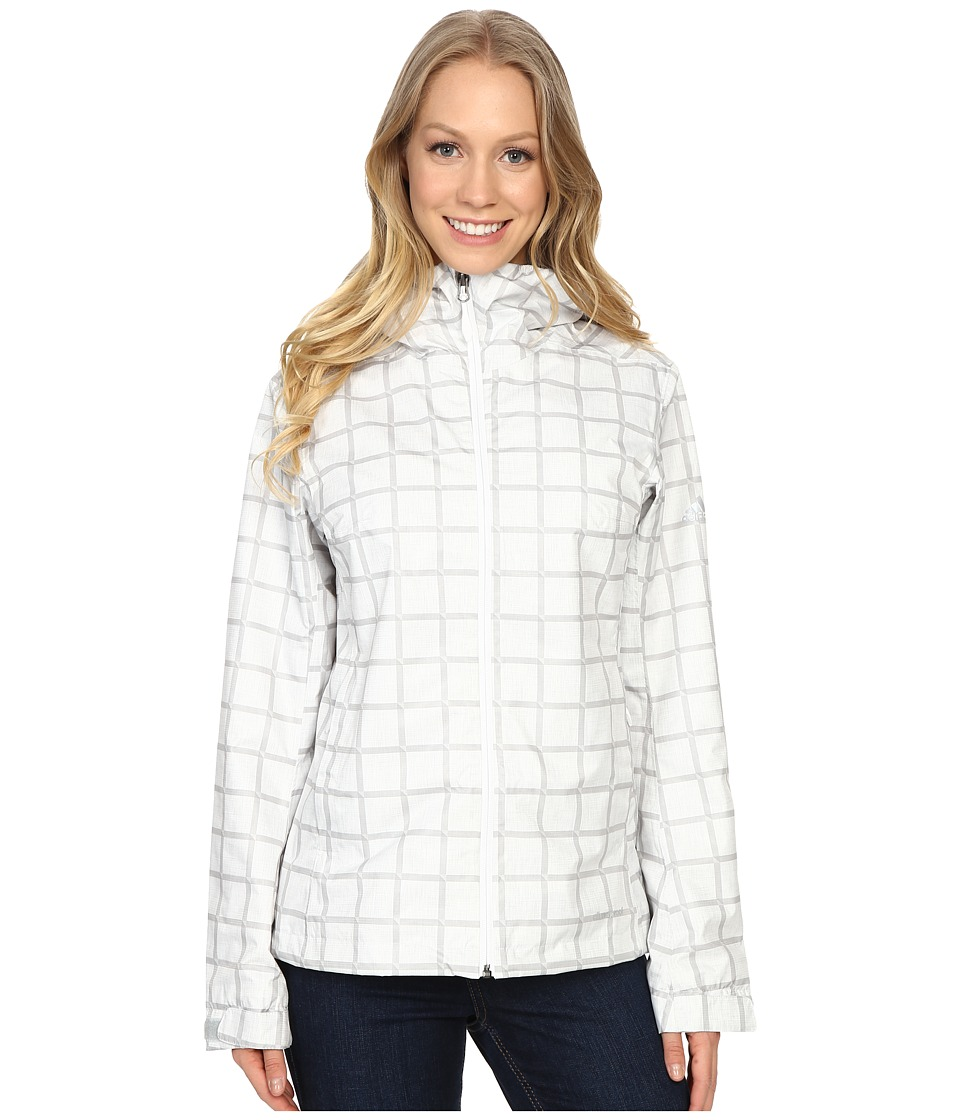 adidas Outdoor - Al Outdoor 2L Wandertag AOP Jacket (White) Women's Coat