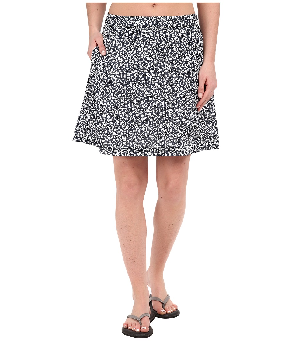 Columbia - Sun Drifter Skirt (Collegiate Navy Tropical Print) Women's Skirt