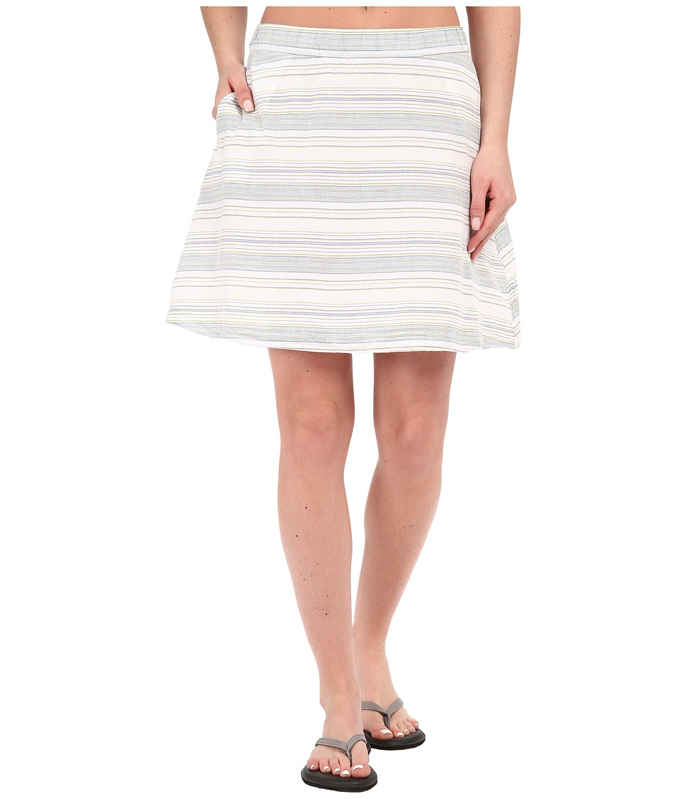 Columbia Sun Drifter Skirt (Collegiate Navy Stripe) Women